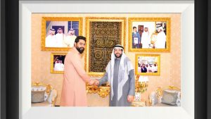Read more about the article Meeting With UAE Businessman Suhail Mohd Al Zarooni