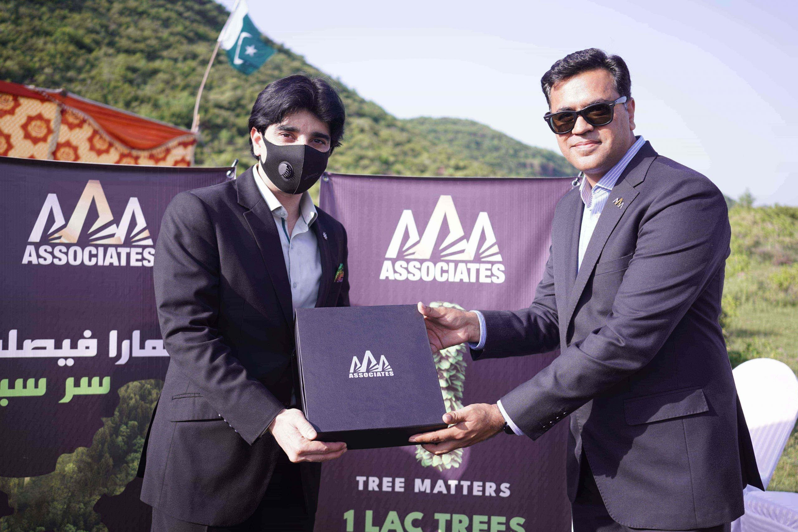AAA Associates has initiated 1-Lac Tree Plantation Drive in Continuation