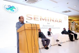 """Read more about the article Bahria Town Management and AAA Association hosted a seminar on """"awareness of FATF regulations and registration"""